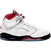 Jordan Kids' Grade School Air Jordan 5 Retro Basketball Shoes