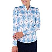 Jofit Women's UV Mockneck Long Sleeve Top