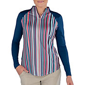 Jofit Women's Vista Mock Neck Golf Pullover