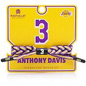 Rastaclat Los Angeles Lakers Anthony Davis Braided Bracelet