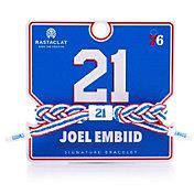 Rastaclat Philadelphia 76ers Joel Embiid Braided Bracelet