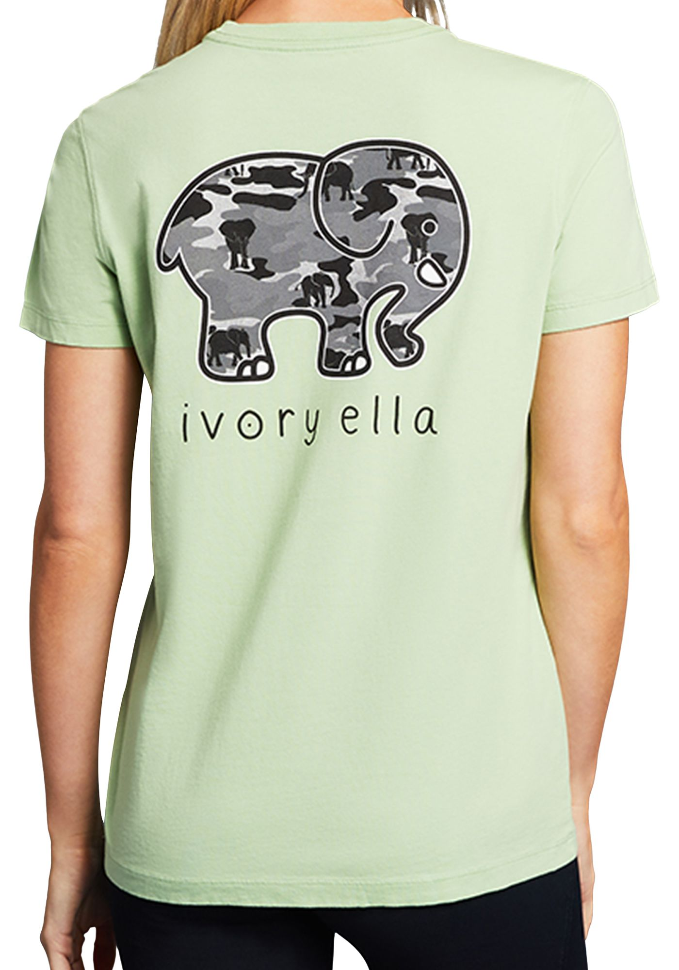 Ivory Ella Women's Camo Short Sleeve T-Shirt