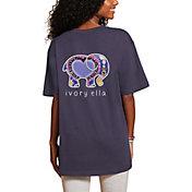 Ivory Ella Women's Heritage Heart Oversized T-Shirt