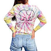 Ivory Ella Horizon Swirl Long Sleeve T-Shirt