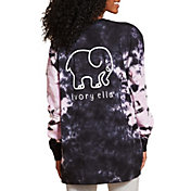 Ivory Ella Women's Orchid Tie Dye Long Sleeve T-Shirt