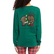 Ivory Ella Women's Reindeer Long Sleeve T-Shirt