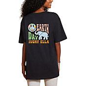 Ivory Ella Women's Earth Day Oversized T-Shirt