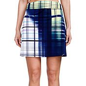 Jamie Sadock Women's Plaid Golf Skort