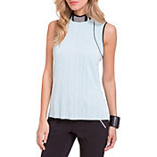 Jamie Sadock Women's Crinkle Crunch Textured Golf Tank Top