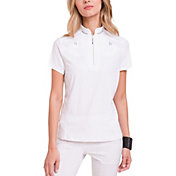 Jamie Sadock Women's Solid Short Sleeve Golf Polo