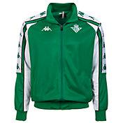 Kappa Men's Betis Retro Green Jacket
