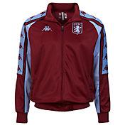 Kappa Men's Aston Villa Retro Maroon Jacket