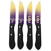 Sports Vault LSU Tigers Steak Knives