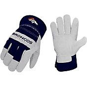 Sports Vault Denver Broncos Work Gloves