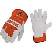 Sports Vault Cleveland Browns Work Gloves