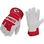 Sports Vault Kansas City Chiefs Work Gloves