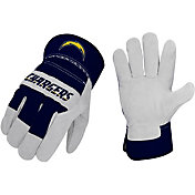 Sports Vault Los Angeles Chargers Work Gloves