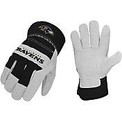 Sports Vault Baltimore Ravens Work Gloves