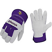 Sports Vault Minnesota Vikings Work Gloves
