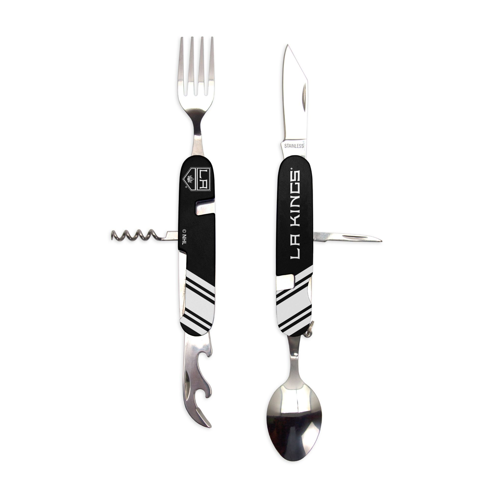 Sports Vault Los Angeles Kings Utensil Multi-Tool, stainless steel
