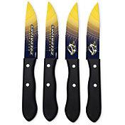 Sports Vault Nashville Predators Steak Knives