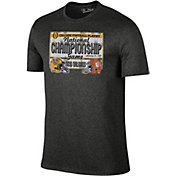 The Victory Men's 2019 National Champions Clemson Tigers and LSU Tigers Dueling Team T-Shirt