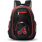 Mojo Atlanta Braves Colored Trim Laptop Backpack