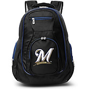 Mojo Milwaukee Brewers Colored Trim Laptop Backpack