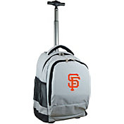 Mojo San Francisco Giants Wheeled Premium Grey Backpack
