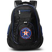 Mojo Houston Astros Colored Trim Laptop Backpack