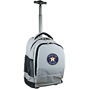 Mojo Houston Astros Wheeled Premium Grey Backpack