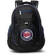Mojo Minnesota Twins Colored Trim Laptop Backpack