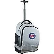 Mojo Minnesota Twins Wheeled Premium Grey Backpack