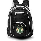 Mojo Milwaukee Bucks Colored Trim Laptop Backpack
