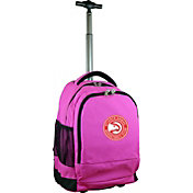 Mojo Atlanta Hawks Wheeled Premium Pink Backpack