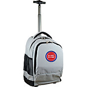 Mojo Detroit Pistons Wheeled Premium Grey Backpack