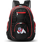 Mojo Fresno State Bulldogs Colored Trim Laptop Backpack