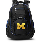 Mojo Michigan Wolverines Colored Trim Laptop Backpack