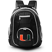 Mojo Miami Hurricanes Colored Trim Laptop Backpack