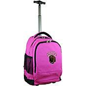 Mojo Montana Grizzlies Wheeled Premium Pink Backpack