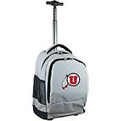 Mojo Utah Utes Wheeled Premium Grey Backpack