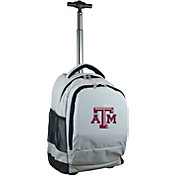 Mojo Texas A&M Aggies Wheeled Premium Grey Backpack