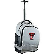 Mojo Texas Tech Red Raiders Wheeled Premium Grey Backpack
