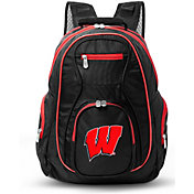 Mojo Wisconsin Badgers Colored Trim Laptop Backpack
