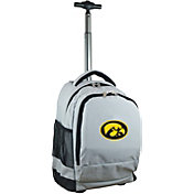 Mojo Iowa Hawkeyes Wheeled Premium Grey Backpack