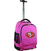 Mojo San Francisco 49ers Wheeled Premium Pink Backpack