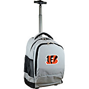 Mojo Cincinnati Bengals Wheeled Premium Grey Backpack