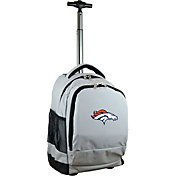 Mojo Denver Broncos Wheeled Premium Grey Backpack