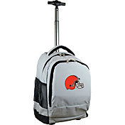Mojo Cleveland Browns Wheeled Premium Grey Backpack