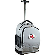 Mojo Kansas City Chiefs Wheeled Premium Grey Backpack